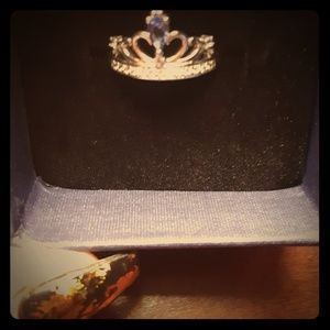Other - Sterling silver crown ring